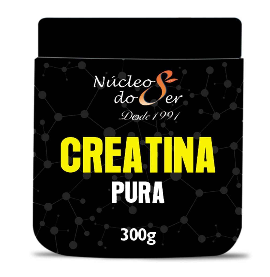 Creatina Pura 300G <br>Suplementos e Nutrição - R$ 35,00