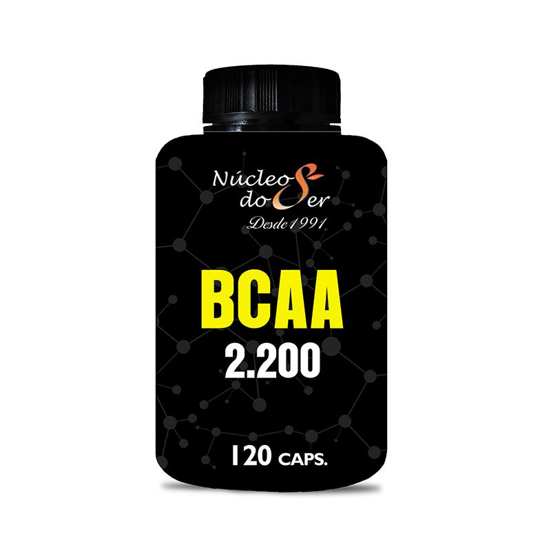 BCAA 2,200 - 120 caps<br>Suplementos e Nutrição - R$ 50,00