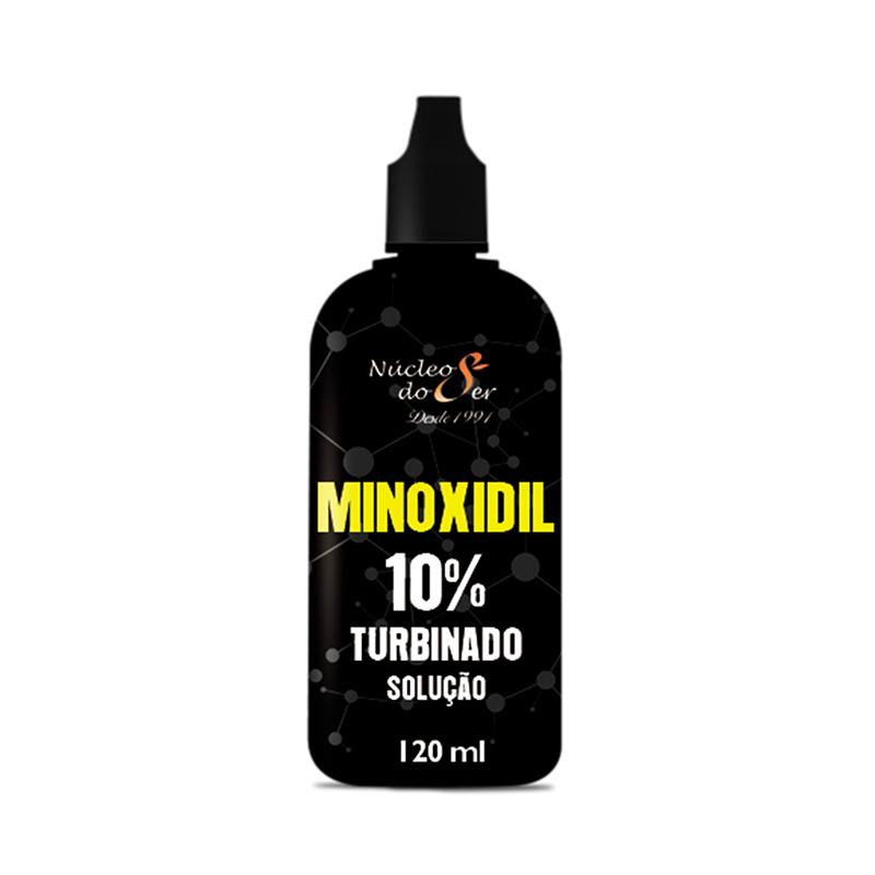 Minoxidil 10% Turbinado Solução  120ML <br>Beleza e Estética - R$ 60,00