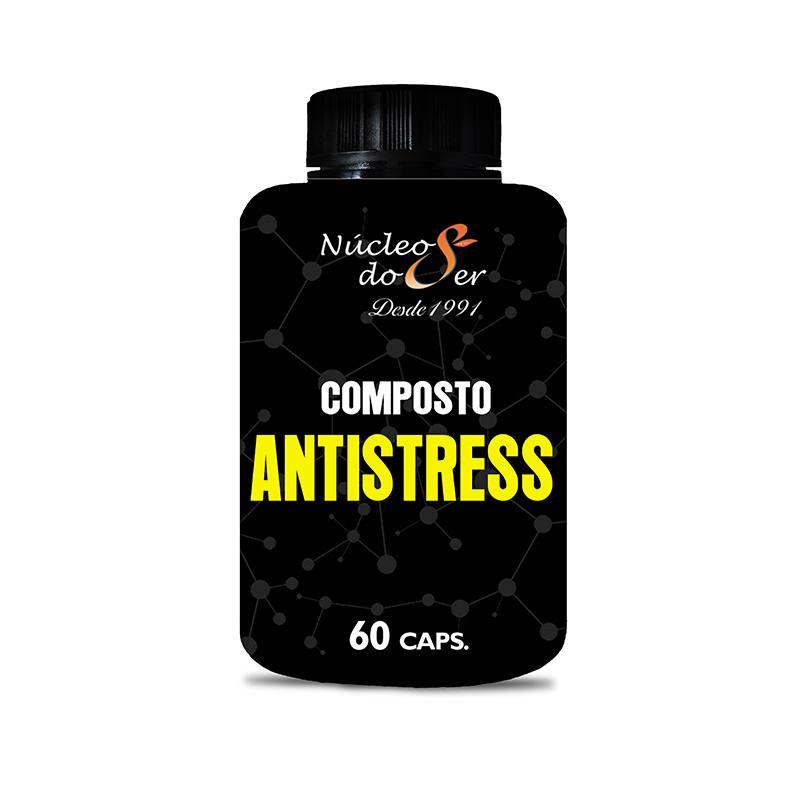 Composto  ANTI  Stress 60 - 60 capsulas <br>Saúde Corpo e Mente - R$ 60,00