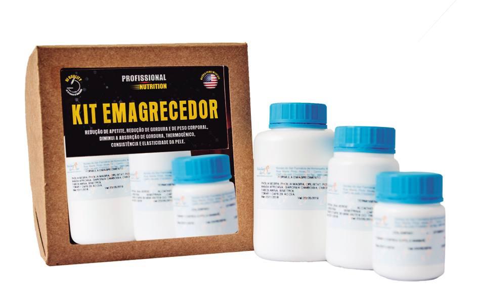 Kit Emagrecedor<br>Emagrecimento - R$ 230,98