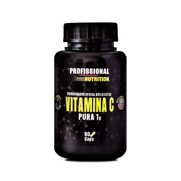 Vitamina C 1g - 60 Cápsulas<br>Saúde Corpo e Mente - R$ 42,00